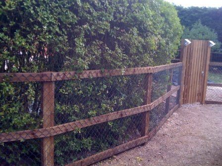 A Post And Rail Fence And Perennial Planting Traditional Landscape New York By Summerset Gardens Joe Weuste